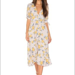 Floral Free People Love of my Life Dress